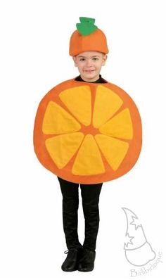 Disfraz de Naranja Infantil Ref. 10585 | Disfraces infantiles | Comprar en Tienda-disfraces.es