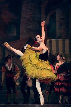 "<<Joy Womack in ""Don Quixote"", Kremlin Ballet # Photo © Elena Pushkina>>"