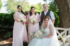 blush and ivory Plantations wedding. Astilbe