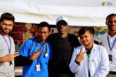 Do you see a familiar face in this pic? Yes, it's right! Macky 2, Zambia's famous hip hop musician  posing with our students at the Education Expo that was held between 14th and 15th June, 2018.    So, what's your favorite song of Macky 2? Let us know in the comment section below. #TexilaAmericanUniversity #ThrowbackThursday
