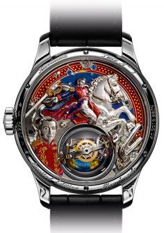 Zenith Academy Christophe Colomb Hurricane Revolución tribute to Simón Bolívar (case-back)