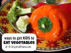 Kids and vegetables aren't always an easy combination.  So how do you get kids to eat vegetables?