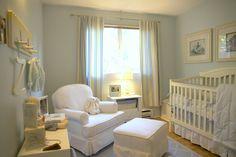 Yellow and blue grey Peter Rabbit nursery