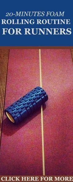 Learn the proper foam rolling technique and the best 8 foam rolling exercises for injury-free running here: http://www.runnersblueprint.com/foam-rolling-moves-for-runners/ #RunnersWorkout #FoamRolling #RunningGearsTips