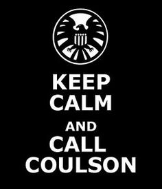Agent Coulson for the win!