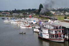 Wooden Boat Festival Goolwa 2017 Murray River, Steamers, Wooden Boats, South Australia, Paddle, Explore, Rivers, Planes, Southern