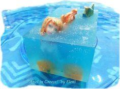 Ο ΝΕΡΑΙΔΟΚΗΠΟΣ της Eλενης-Aντζελινας!/Χειροποιητα σαπουνια-καλλυντικα/ΕLENI'S FAIRY GARDEN: ''Ariel in Greece!'' Οnce Upon a Time Soap series ...by Eleni
