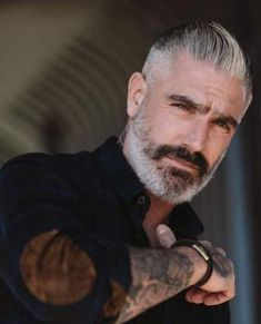 Likes, 37 Comments – Daniel Sheehan (Sheehan and Company – Menswear) on In… – coiffures et barbe hommes Beard Styles For Men, Hair And Beard Styles, Hair Styles, Boy Hairstyles, Trendy Hairstyles, Bart Tattoo, Daniel Sheehan, Grey Hair Men, Men Hair