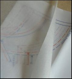 """Look what just arrived! Swedish tracing paper – It comes in 10 yard long rolls, 29"""" wide. Drapably soft, yet strong enough to sew on, you'll love the master patterns you create from Swedish Tracing Paper.   http://organiccottonplus.com/products/swedish-tracing-paper"""
