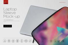 Laptop Sleeve Mock-up by mesmeriseme.pro on @creativemarket
