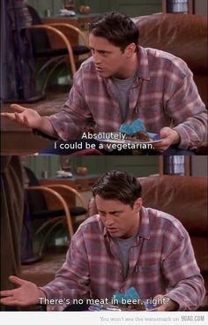 Joey being Joey