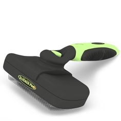 Pro Quality Self Cleaning Slicker Brush for Dogs and Cats - Easy to Clean Pet Grooming Brush Removes Mats, Tangles, and Loose Hair with Minimal Effort and Comfort - Suitable for Long or Short Hair ** Startling review available here  : Dog Grooming