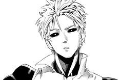 I have to admit, first time I saw Genos i thought it was Kaneki from tokyo ghoul   (it was a black and white fanart ok ;_;)