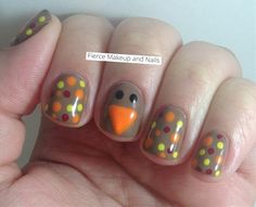 I am going to try this design out- it is so cute!!!! - Click image to find more nail art posts