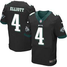 55bf3761aa4 Nike Philadelphia Eagles #4 Jake Elliott Black Alternate Men's Stitched NFL  New Elite Jersey Nelson