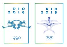 Rio 2016 by Laura Vandenbergh, via Behance