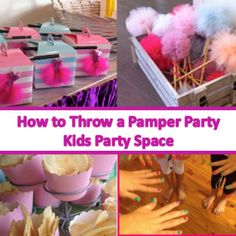 Pamper party on pinterest spa party parties and paris party for All decoration games for girls