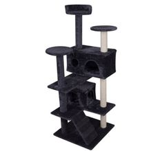 WALCUT 51' Cat Tree Condo Furniture Scratcher Post Play Toy Pet House Kitten Tower -- Check out this great product.