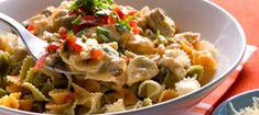 Broileri-herkkusienikastike pastalle - Reseptit - Arla Guacamole, Potato Salad, Potatoes, Mexican, Pasta, Koti, Ethnic Recipes, Potato, Noodles
