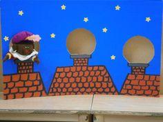 Zwarte piet Ding Dong, School Themes, Preschool Kindergarten, Winter Christmas, Saints, December, Shapes, Projects, Kids