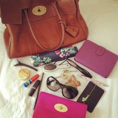 """Smith Smith Smith's photo: """"What's in My Bag - great competition by Brasil Brasil Brasil UK What In My Bag, What's In Your Bag, Glossybox Uk, What's In My Purse, Purses And Handbags, Fashion Bags, Sunglasses Case, Your Style, Oakley Glasses"""