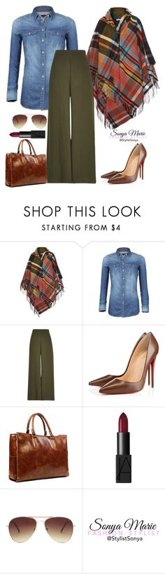 """Untitled #255"" by stylistsonyamarie on Polyvore featuring Vivienne Westwood Anglomania, River Island, Christian Louboutin, NARS Cosmetics and Forever 21"