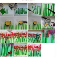 Tulpenkunst gezien bij Simone de Groot van Klassewerk