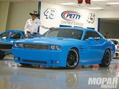 2009 Dodge Challenger Richard Petty