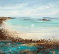 Amanda HOSKIN-Teal and Turquoise Hue, Tresco