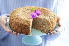 Wegańska szarlotka jaglana (bez cukru, laktozy i glutenu)