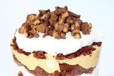 Peanut Butter Cup Trifle will amaze you and your guests. Full of chocolate peanut butter love!