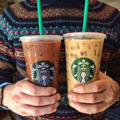 Starbucks and Sweaters