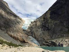 Jostedalsbreen nasjonalpark in Stryn, Sogn og Fjordane