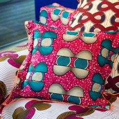 """Paola Navone's """"Afro-Italian"""" collection, celebrating Linteloo's 20th anniversary."""