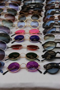 sunglasses More Circles, Shades, Summer Memories, Fashion, Vintage Photographers, Accessories, Bohemian Style, Round Sunglasses, John Lennon Hazy summer memories Glasses circle vintage photographs how very John Lennon ☮ American Hippie Bohemian Style ~ Boho .. Shades .. Sunglasses Sunglasses, accessories, fashion statement, shopping, glasses round sunglasses