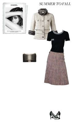 """""""#6697 - Chanel"""" by pretty-girl-in-fashion ❤ liked on Polyvore featuring Chanel and summertofall"""
