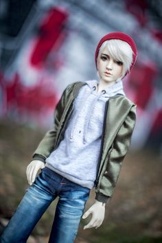1//4 BJD MSD boy or girl doll clothes outfit leather pants dollfie luts minifee
