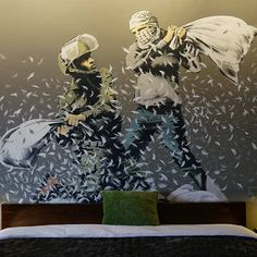 12.) San Francisco Banksy is the gold standard when it comes to urban street art. His legendary reputation has only grown since the 2010 release of his int