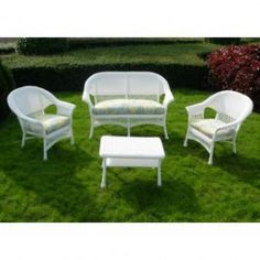 Outdoor Wicker Furniture, Garden Furniture, Outdoor Decor, Patio Sets, Synthetic Resin, Steel Frame, Conversation, Flare, Cushions