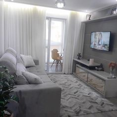 Home Decoration Do It Yourself Code: 7373997843 Narrow Living Room, Home And Living, Sala, Living Room Designs, Home Living Room, Apartment Decor, Home Deco, Apartment Interior, Small Apartment Living