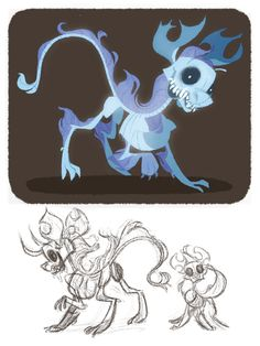 my little skeleton dog by ~otherwise on deviantART