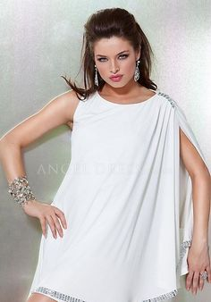 A line Chiffon High Neck Natural Waist Sleeveless Short Length White Cocktail/ Prom Dress