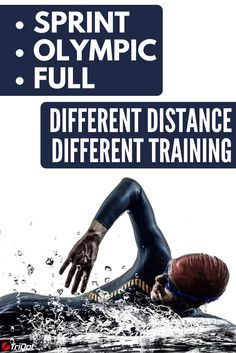 How Triathlon Training Differs for Sprint, Olympic, and Ironman Distances Olympic Triathlon Training Plan, Sprint Triathlon, Marathon Training, Triathlon Distances, Xterra Triathlon, Fun Workouts, Training Workouts, Running Training, Ironman Triathlon
