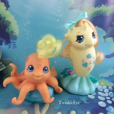 Baby Sea Pony Lucky Leaf & Baby Octopus Leafy (1-2017)