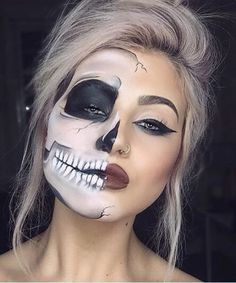 Unique Halloween Makeup 2017 #Beauty #Musely #Tip