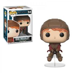 Harry Potter Ron Weasley on Broom Pop! Vinyl Figure : Take flight for a game of Quidditch with team Gryffindor! This Harry Potter Ron Weasley on Broom Pop! Vinyl Figure measures approximately 3 tall. Comes packaged in a window display box. Harry Potter Ron Weasley, Harry Potter Quidditch, Ginny Weasley, Objet Harry Potter, Ron Y Hermione, Quidditch Pitch, Hermione Granger, Figurine Pop Harry Potter, Plushies
