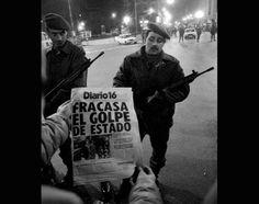 El 23 de febrero de 1981 España se vio sacudida por un golpe de estado que no llegó a buen puerto. Aquí tienes a los protagonistas en imágenes.
