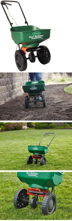 Seeders and Spreaders 118869: Scotts Turf Builder Mini Broadcast Spreader Lawn Seed Push Fertilizer Landscape -> BUY IT NOW ONLY: $57.82 on eBay!