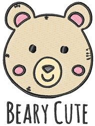 Beary Cute Embroidery Design Cute Animals Embroidery Designs