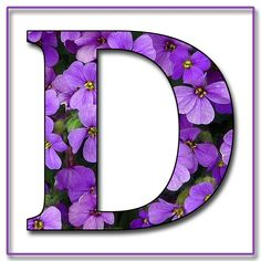 Capital+Letter+D+Free+Scrapbook+Alphabet+Purple+Flowers.jpg (1200×1200)